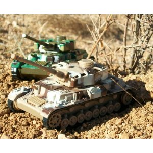 Deluxe Military Die Cast Toy Tanks - 3 Pieces Set