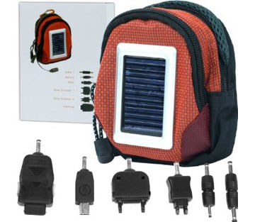 Deluxe Solar Power Charger Bag Cell Phone And Other