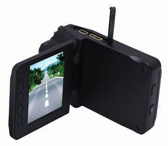 140° Car DVR/Car Black Box, 2.5-inch Player, 6 Pieces X-Red, 5-megapiexl, HD Camera, SD Card