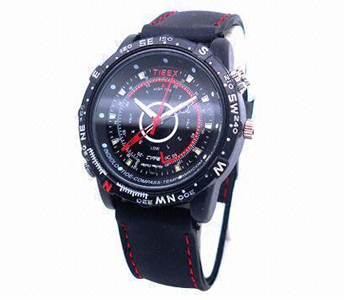 8MP Hidden Spy Watch Camera, Supports Video and Voice Recording Functions 16GB