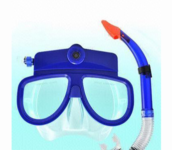 1,280 x 960/30fps Diving Camera Glasses, Lunette, 1,600 x 1,200-pixel Picture/10M Underwater Snorkel 4GB