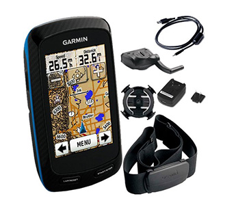 Garmin Edge 800 with Haert Rate & Cadence + MicroSD 2GB + Indonesia Map