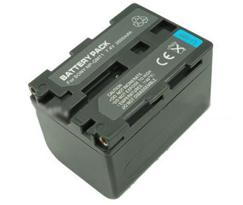 Replacement Battery 7.4V 2600mAh for Sony FM70/QM71 Series