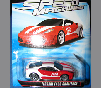 Ferrari F430 Challenge 1:64 Hot Wheels Speed Machines 2011 Mint W2321-0718