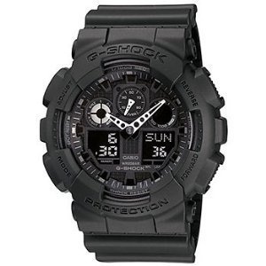 Casio G-Shock Big Combination Military Watch - Matte Black