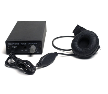 Professional telephone voice changer,You can change your voice from male to female