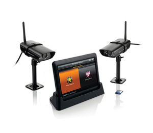 Uniden Guardian G755 Wireless Video Surveillance System with 7-inch Display