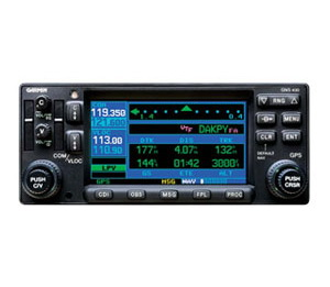 Garmin GNS 430AW (Black) International System