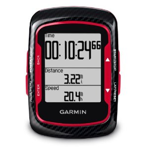 Garmin Edge 500 Red GPS Super Cycling Computer Heart Rate Monitor