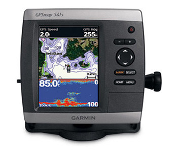 Garmin GPSMAP 541s 5-Inch Waterproof Marine GPS and Chartplotter with Sounder and Dual Frequency Transducer