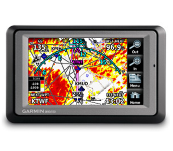 Garmin Aera 550 Color Aviation GPS (Pacific Database) + 3x Free Update Jeppesen