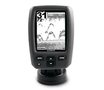 Garmin echo 150 Dual-Beam Fishfinder 4-Inch, 1200ft depth