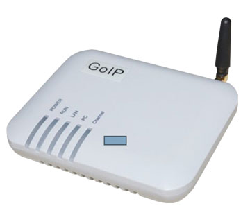 1-channel GSM VoIP Gateway GSM+GoIP-1
