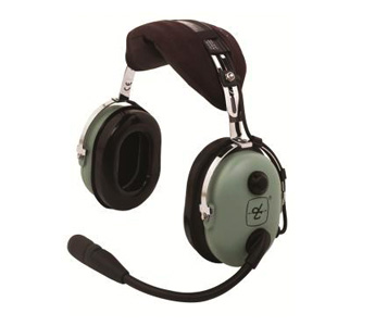 David Clark H10-13HXL ANR Headset w/ Helo Plug w/ Battery Power