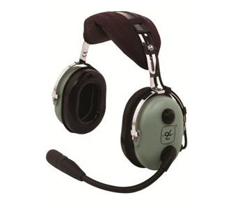 David Clark H10-13HXP ANR Headset w/ Helo Plug w/ Panel Power