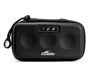 H2O Audio XPL-BK Xplorer Portable Speaker Case