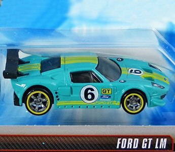 Ford GT LM Hot Wheels Speed Machines 2009 Turduoise