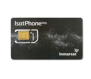 Inmarsat IsatPhone Pro Prepaid SIM Card - (isi voucher 100 units)