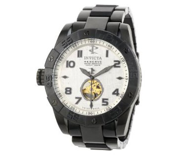 Invicta Men's 0221 Reserve Collection Lefty Automatic Black Ion-