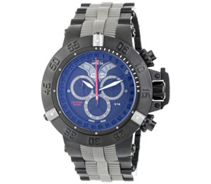 Invicta Men's 0805 Subaqua Noma III Chronograph Black Ion-Plated