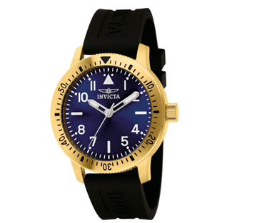 Invicta 11403 Specialty Quartz SS Case Polyurethane Strap Mens Watch