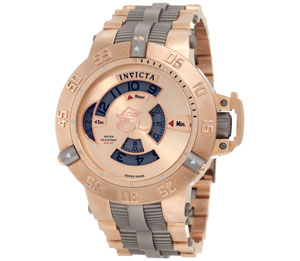 Invicta Men's 1571 Subaqua Noma III Mechanical 18k Rose Gold Ion