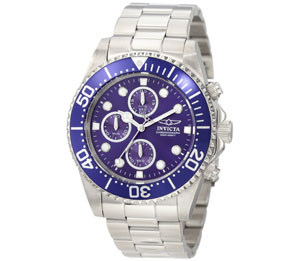 Invicta Men's 1769 Pro Diver Collection Chronograph Watch