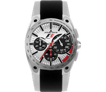 Jacques Lemans Chronograph - Formula 1 Leather Watch