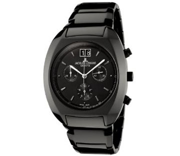 Jacques Lemans GU168D Geneve Collection Terra Chronograph Black