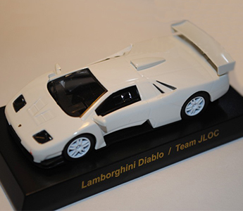 KYOSHO 1:64 Lamborghini 3 Diablo/Team JLOC Model (White)