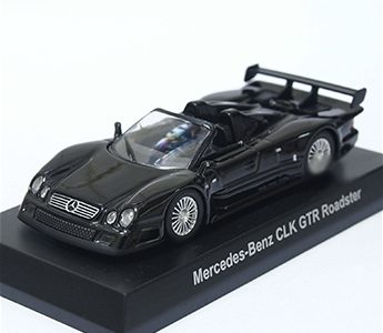 KYOSHO 1/64 Scale Diecast Mercedes Benz CLK GTR Roadster AMG Minicar Collection