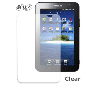 KaysCase Screen Protector Film for Samsung Galaxy Tab 2 7.0 Pad, Clear (Invisible)