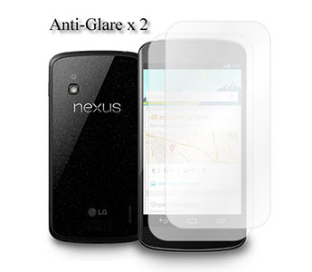 KaysCase Screen Protectors for LG Google Nexus 4 Phone Anti-Glare (Matte)