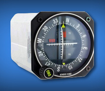 King Radio KI-206 - NAV/ILS Indicator - Yellow Tagged