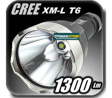 Lumen CREE XML XM-L T6 LED 1300  Flashlight Torch K2