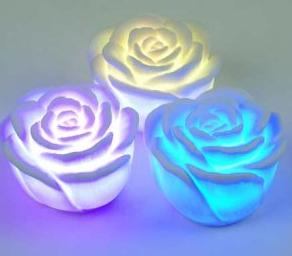 LED Flower Night Light AA-L01