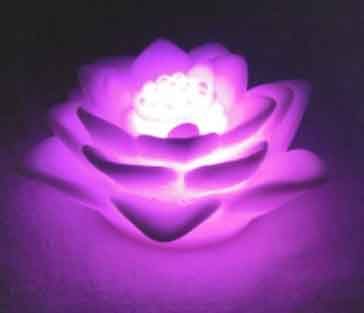 Led lotus Night Light AA-L02