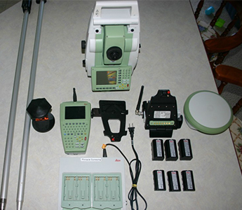 Leica System 1200 TCRP1205 Robotic Total Station and ATX1230 GPS (Used)