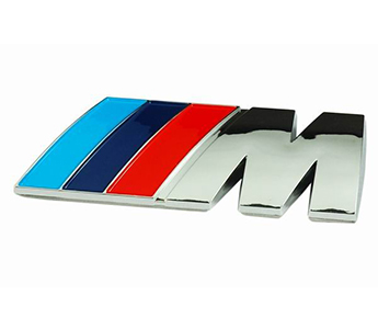 /// M Power Emblem Badge Logo Decal Sticker BMW 1 3 5 7 X Z M Series M3 M5 Z3 Z4
