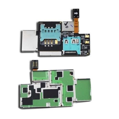 Memory Sim Card Flex Cable Tray Slot Holder for Samsung Galaxy Note i717