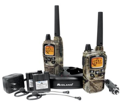 Midland GXT860VP4 42 Channel GMRS Radios - Camo