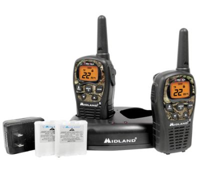 Midland LXT560VP3 36 Channel GMRS Radios - Camo
