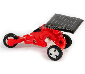 Mini Tricycle Shape Solar Powered Toy