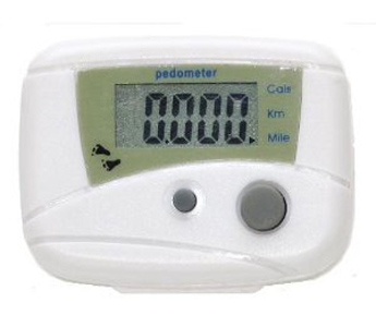 NEEWER Digital Step Counter/ Calorie Counter - White