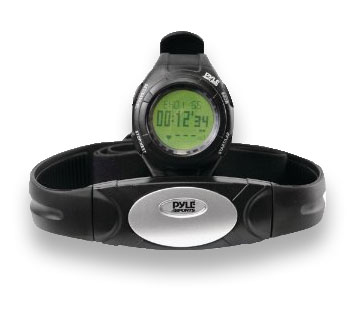 Pyle Sports PHRM 28 Advance Heart Rate Fitness Running Watch w/ HRM