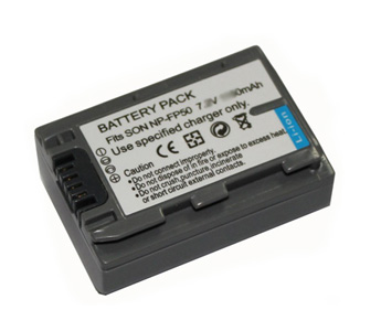 Replacement Battery 7.4V 680mAh for Sony NP-FP50 Series