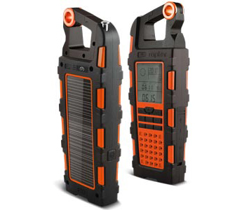 Etón Raptor NSP200WXOR Solar USB Charger and Weatherband Radio - Beberapa Warna