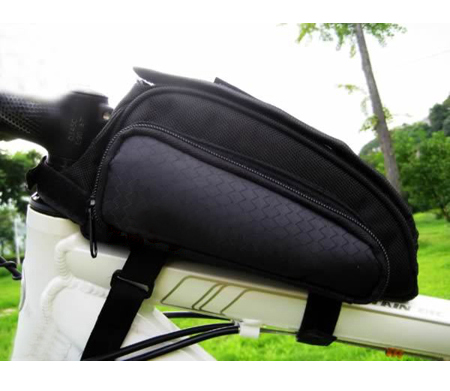 Cycling Bike Bicycle Trame Pannier Front Tube Bag