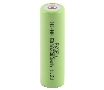 NiMH 50AA 1.2V 2300mAh Rechargeable Battery