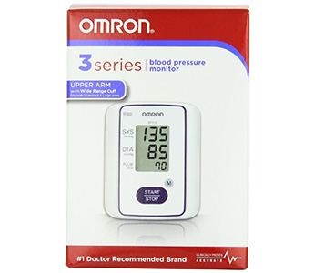 Omron 3 Series Automatic Blood Pressure Monitor (Used)